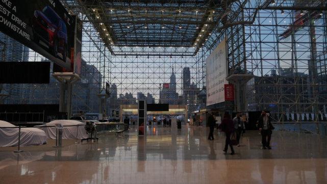 2020年纽约国际车展取消 原举办场地临时改建为野战医院