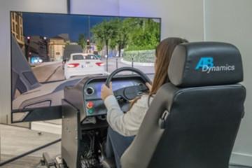 AB Dynamics推新款静态驾驶模拟器 可减少测试时间与成本
