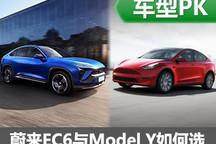 掰开揉碎 蔚来EC6与Model Y竞争力分析