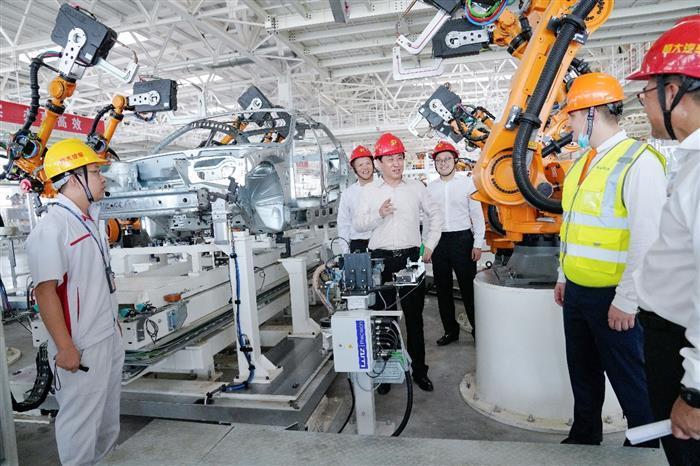 上海、广州生产基地1分钟可产1辆车,连推6款新车后恒大再秀造车肌肉