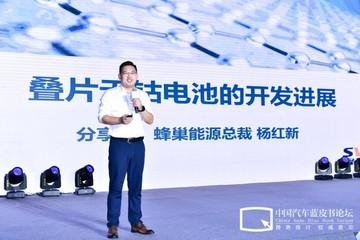 杨红新:叠片工艺+无钴技术是动力电池未来趋势