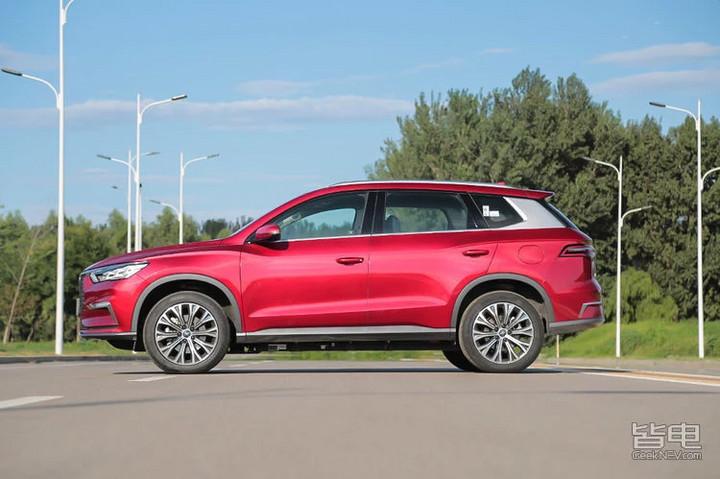 20万级强纯电SUV 比亚迪宋Pro对比北汽EX5