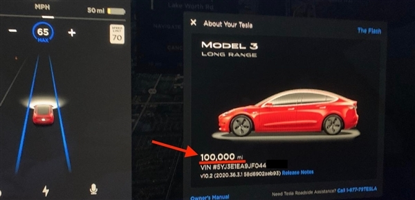 跑了16万公里的Model 3:电池仅衰减5%、电费+保养费总计3万出头