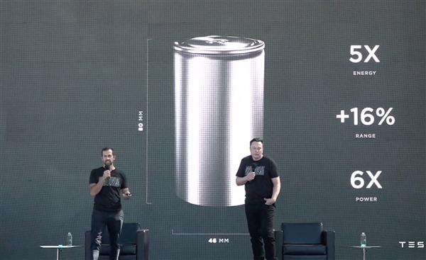 新4680电池是PPT?马斯克不服:已经路试