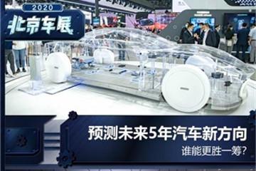 车展观向 一文看懂未来5年汽车新趋势