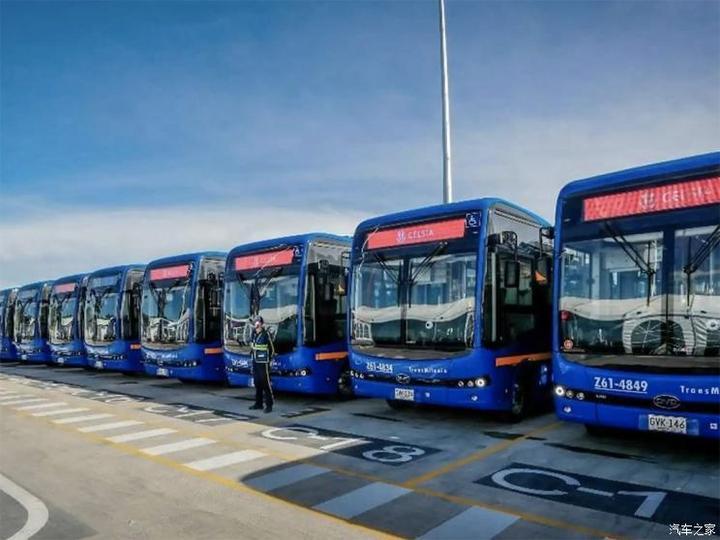 加速电动化 比亚迪获更多电动客车订单
