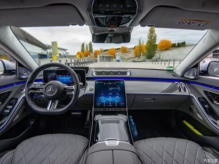 奔驰(进口) 奔驰S级 2021款 S 500 4MATIC