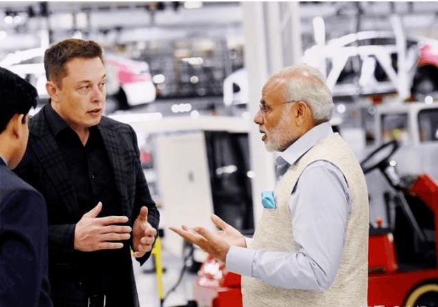 力邀特斯拉建厂,印度豪言建「全球最大电动汽车制造中心」