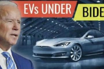 拜登计划将65万政府车辆换成电动车 马斯克:非常兴奋