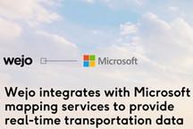 Wejo与微软扩展合作 将实时交通数据与微软地图服务集成