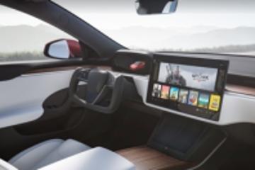 新款特斯拉Model S谍照曝光:科幻方向盘没了