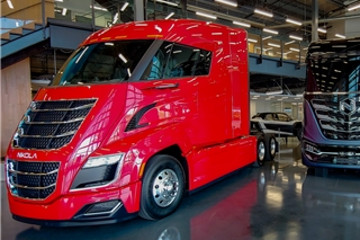 Nikola发布氢燃料电池汽车产品阵容 续航里程最高可达1400公里