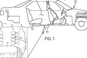 通用汽车申请汽车足部按摩系统专利 可为乘客提供足部按摩