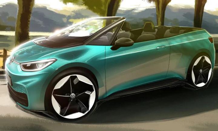 电动汽车,<a class='link' href='http://car.d1ev.com/audi-series-893/' target='_blank'>大众ID</a>.3,敞篷版ID.3,大众电动汽车