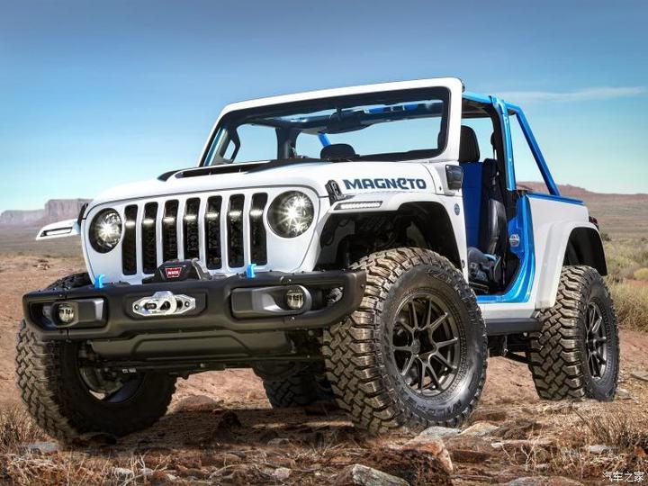 Jeep(进口) 牧马人新能源 2021款 Magneto Concept