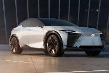 雷克萨斯概念车LF-Z全球首发,将在上海车展迎来中国首秀