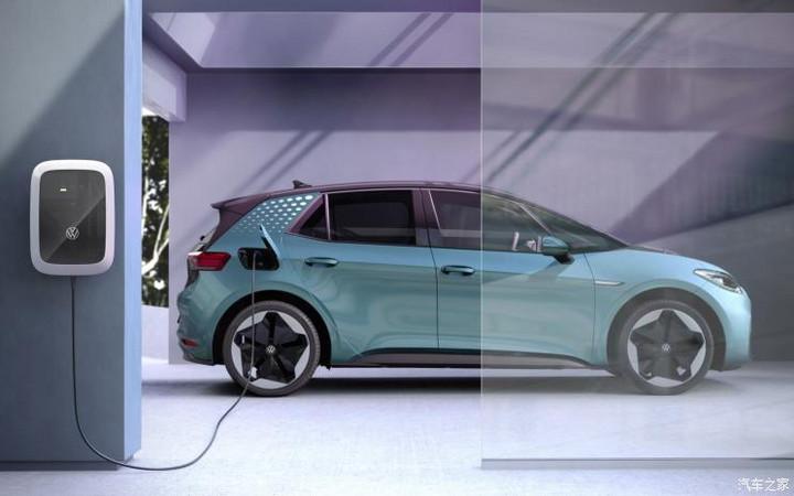 大众所有MEB纯电动车都将实现双向充电