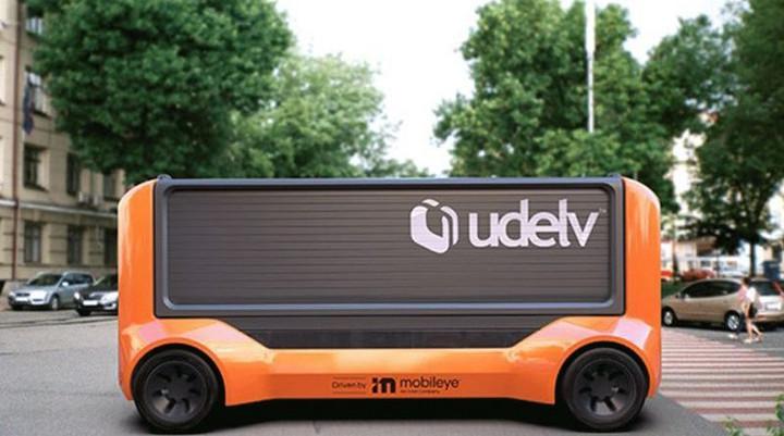 Mobileye和初创公司Udelv计划生产35,000辆无人驾驶运输车 助力最后一英里交付