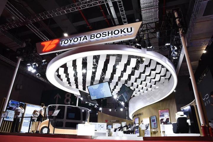 自动驾驶,丰田纺织,上海车展