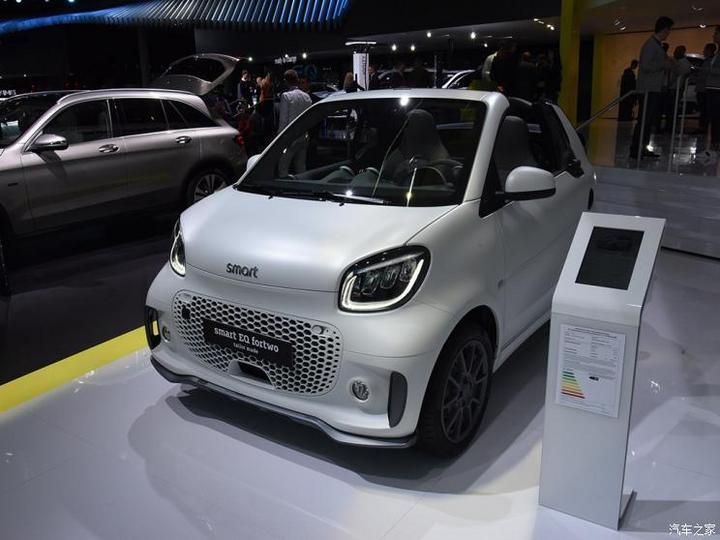 smart smart fortwo新能源 2019款 Cabrio