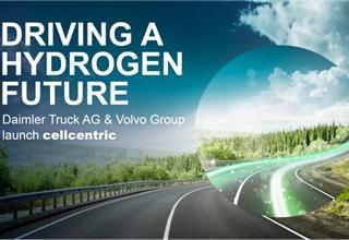 戴姆勒和沃尔沃集团设立燃料电池合资企业cellcentric