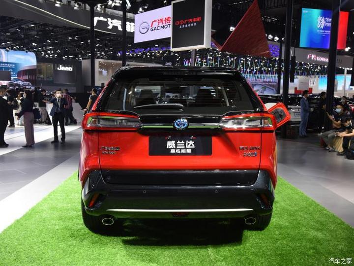 广汽丰田 威兰达新能源 2021款 2.5L 四驱高性能版