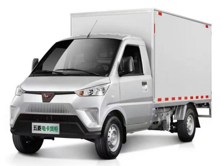 五菱工业 五菱电卡 2021款 厢式运输车2.9米货箱力神41.6kWh通宇电控
