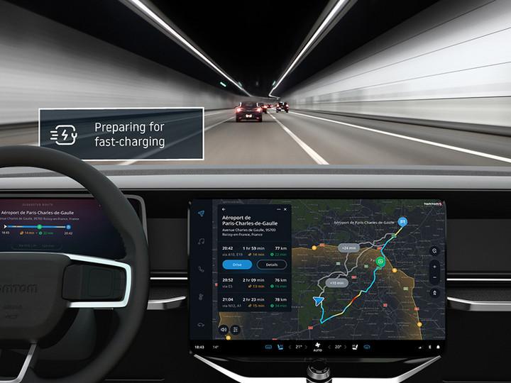 前瞻技術,TomTom,EV技術套件,汽車充電技術,TomTom Routing and Range