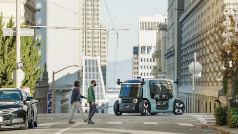 前瞻技术,亚马逊旗下Zoox,自动驾驶汽车,防撞设计