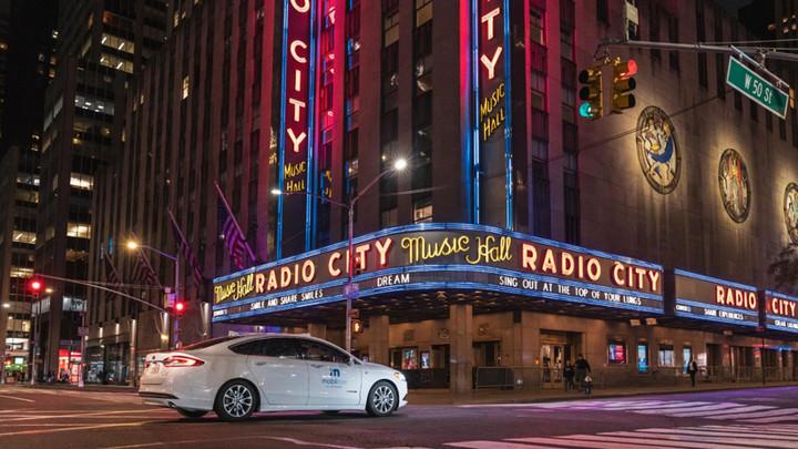 前瞻技术,Mobileye,纽约测试自动驾驶车辆