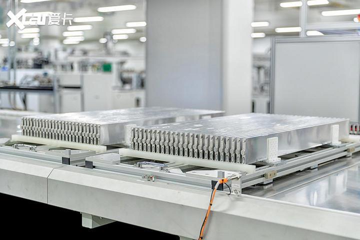 比亚迪刀片电池工厂
