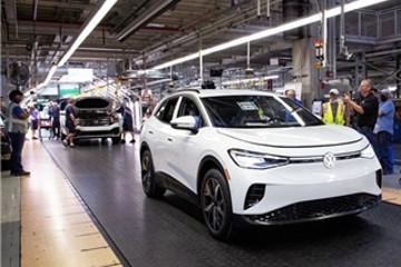 大众汽车首辆在美国试生产ID.4下线 预计明年实现全面量产
