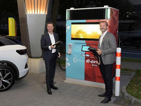 前瞻技术,E.ON,大众,快速充电设备E.ON Drive Booster