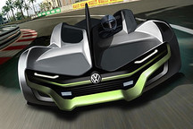 科幻感十足或采用纯电动 大众概念跑车渲染图曝光