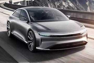 Lucid Air电动汽车最新测试创新极速纪录:235mph