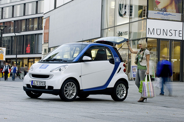 2020年将建5000个新能源汽车分时租赁网点 成都明确鼓励共享汽车发展